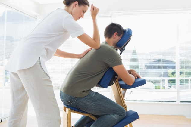 In – office massages Chair massage